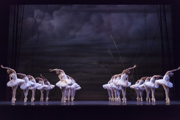 "Artists of the Ballet in the National Ballet of Canada's production of James Kudelka's ""Swan Lake""(Aleksandar Antonijevic)"