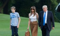 First Lady Melania and Barron Trump Move Into White House