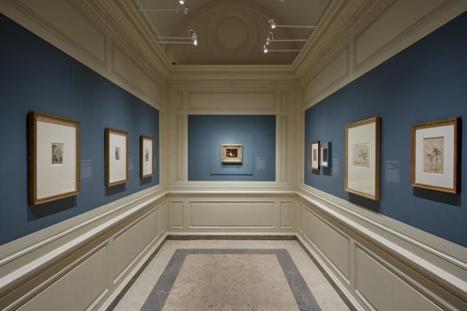"""Divine Encounter: Rembrandt's Abraham and The Angels"" exhibition at The Frick Collection, May 30  through August 20, 2017. (The Frick Collection)"