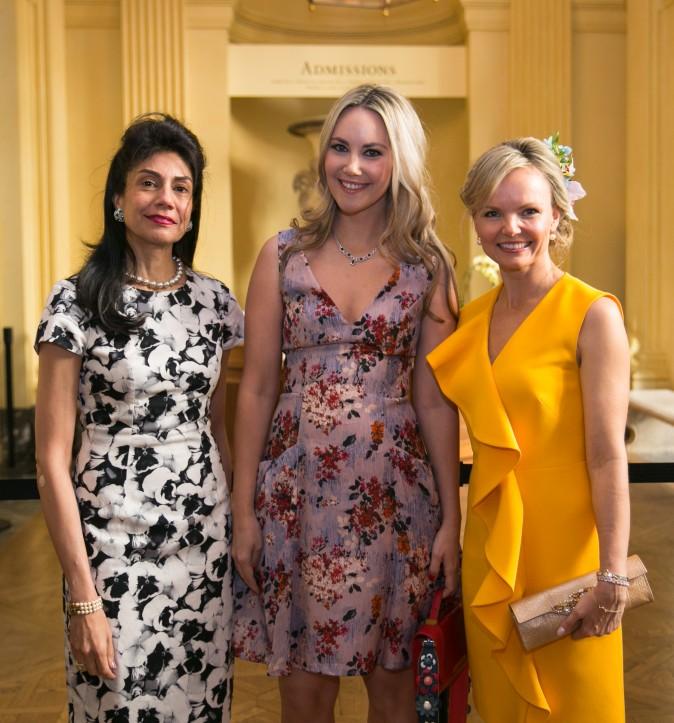 Ayesha Bulchandani, Elizabeth Kurpis, and Monika McLennan. (Benjamin Chasteen/The Epoch Times)