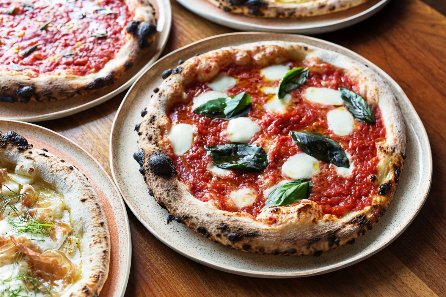 Pizzas by Inferno Pizzeria Napoletana. (Courtesy of Inferno Pizzeria Napoletana)