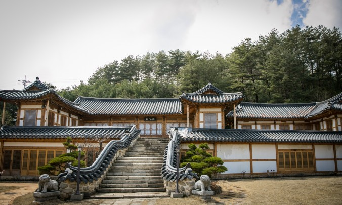Guest lodging at the  Jeong Gang Won institute.  (Benjamin Chasteen/The Epoch Times)