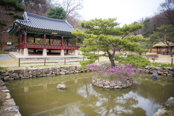 The Korean Folk Village in the city of Yongin. (Benjamin Chasteen/The Epoch Times)