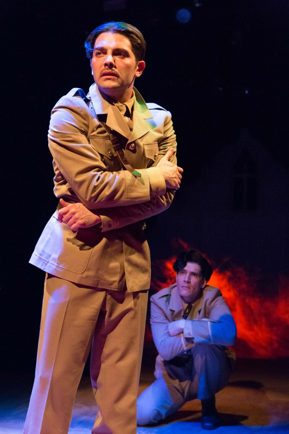 Poet Wilfred Owen (Michael Raver) and poet Siegfried Sassoon (Nicholas Carriere) become friends near the end of World War I. (sheencenter.org)