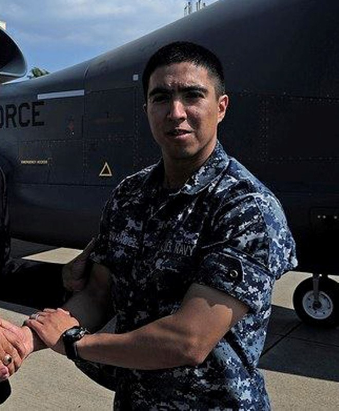 Gunner's Mate 2nd Class Noe Hernandez, 26, from Weslaco, Texas, one of the dead sailors identified by the U.S. Navy from a collision between the U.S. Navy destroyer USS Fitzgerald and Philippine-flagged merchant vessel, is seen in this undated handout photo released by the U.S. Navy on June 19, 2017. (Courtesy of U.S. Navy/Handout via Reuters)