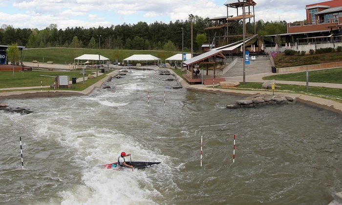 The U.S. National Whitewater Center on April 7, 2016 in Charlotte, North Carolina. (Streeter Lecka/Getty Images)