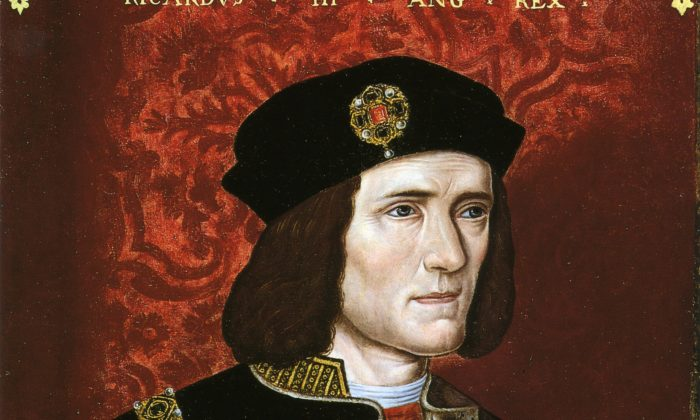 Portrait of Richard III, late 16th-century, National Portrait Gallery. Richard had been painted as a villain in most historical accounts. (Public Domain)