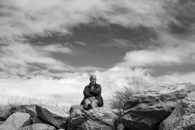 Robert Frank in Mabou, Nova Scotia, Canada in 2014. (DoDo Jin Ming)