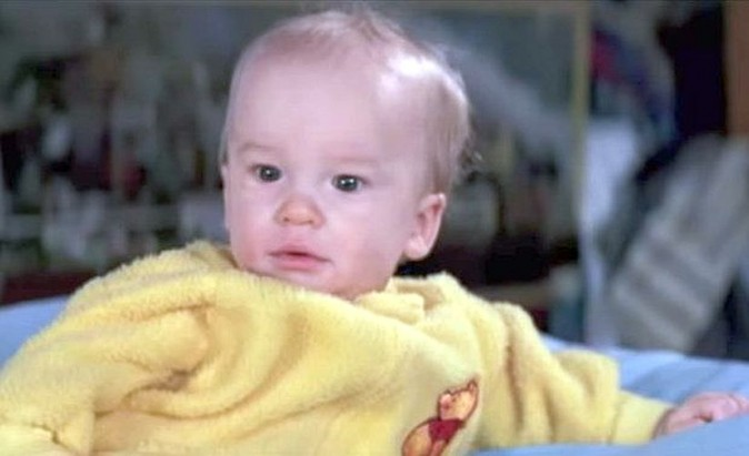 He played Baby Oscar (Screenshot from 'Ghostbusters II'
