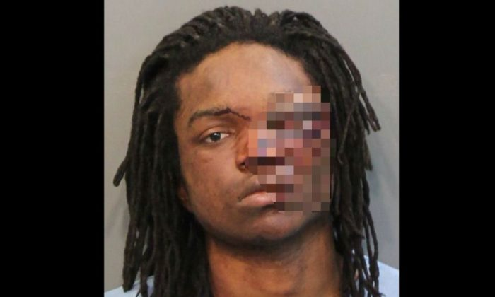 Calvin Carter III. (Hamilton County Sheriff's Office/edited by The Epoch Times)