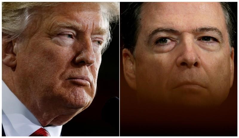 Trump Says Comey Broke Law by Illegally Sharing Classified Information