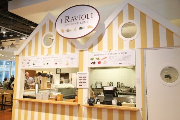 The ravioli counter at Eataly Downtown. (Courtesy of Eataly)