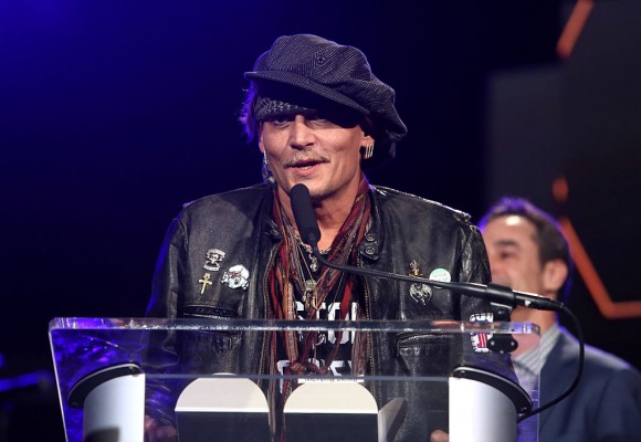 Actor Johnny Depp. (Jesse Grant/Getty Images for NAMM)