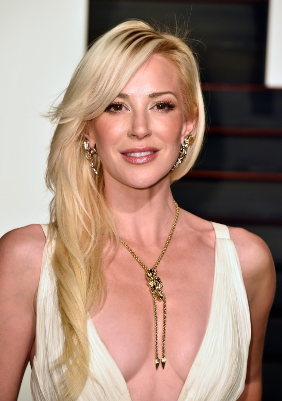 Louise Linton attends the 2015 Vanity Fair Oscar Party hosted by Graydon Carter at Wallis Annenberg Center for the Performing Arts on February 22, 2015 in Beverly Hills, California. (Pascal Le Segretain/Getty Images)