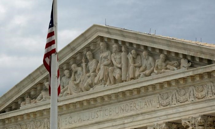 A view of the U.S. Supreme Court building is seen in Washington, DC, on Oct. 13, 2015. (Jonathan Ernst/Reuters)