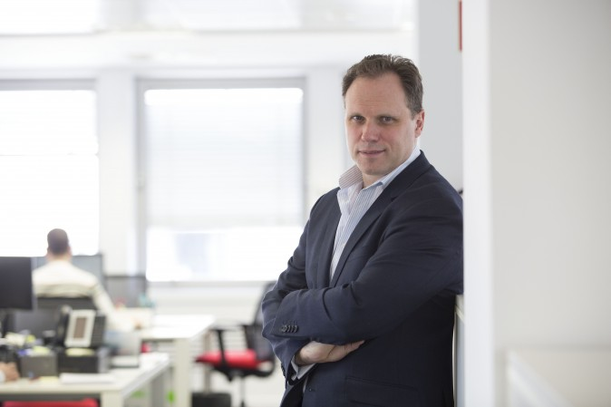 Daniel LaCalle, chief economist and investment officer at Tressis Gestión. (NACHO MARTIN)