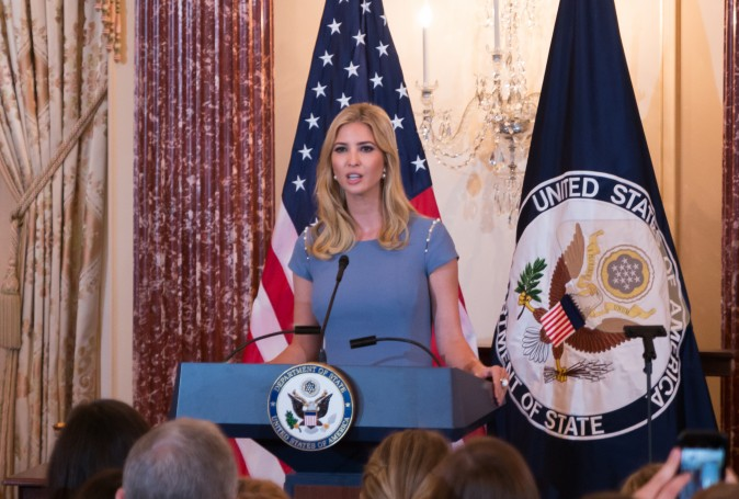 Ivanka Trump speaks at the 2017 Trafficking in Persons Report Ceremony at the State Department in Washington, D.C. June 27, 2017.