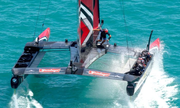 Emirates Team New Zealand demonstrate skills and speed to wrap up the America's Cup  7-1 on Monday June 26 with a day to spare. (ACEA 2017 / Photo Gilles Martin-Raget)