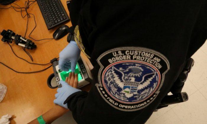 U.S. Customs and Border patrol officer in McAllen, Texas, U.S., May 10, 2017. (REUTERS/Carlos Barria/File Photo)