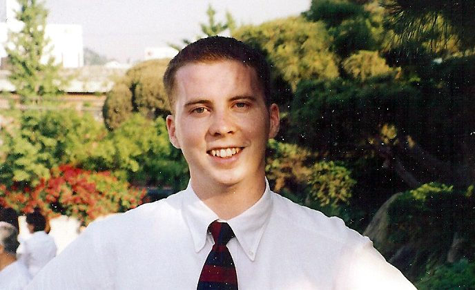 Family photo of David Sneddon. (http://www.helpfinddavid.com/)