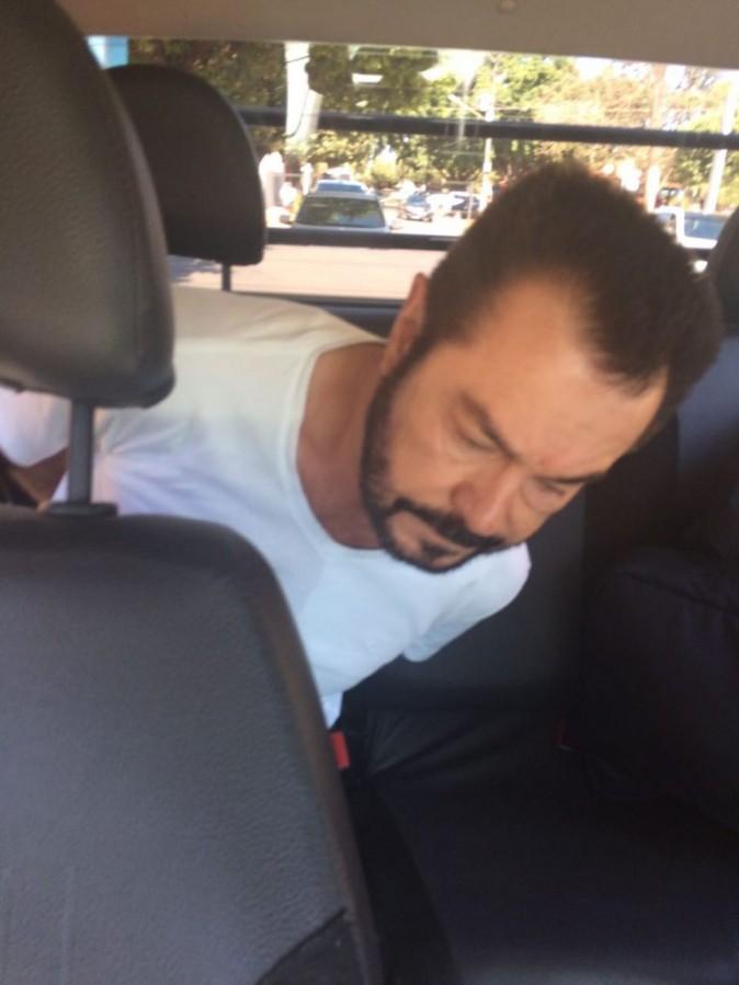 Luiz Carlos da Rocha after being arrested. (Federal Police of Brazil)