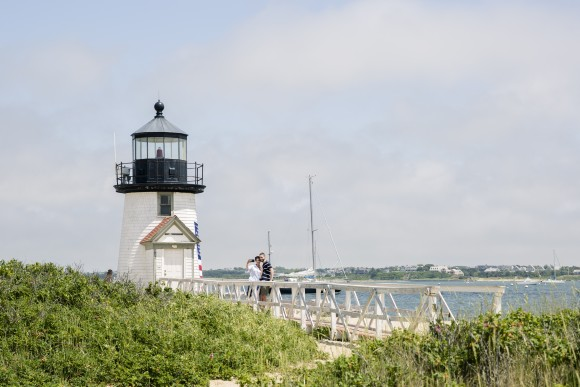 Brant Point Light Station, established in 1746. (Samira Bouaou/The Epoch Times)