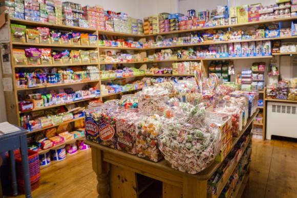 "A ""secret"" candy shop in Nantucket, Mass., on July 8, 2017. (Samira Bouaou/The Epoch Times)"