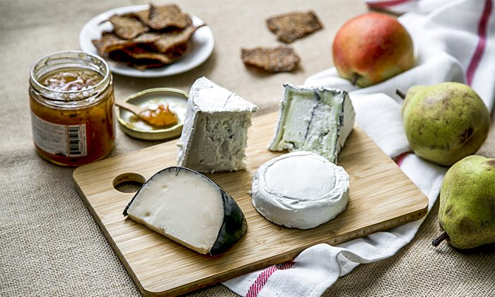 Cypress Grove cheeses.