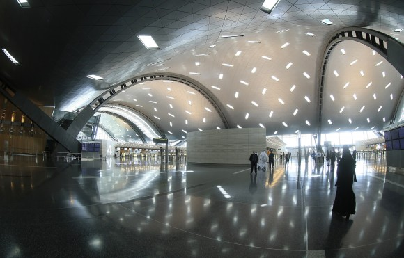 A terminal in Hamad International Airport (HIA) on April 30, 2014 in Doha, Qatar. (KARIM JAAFAR/AFP/Getty Images)