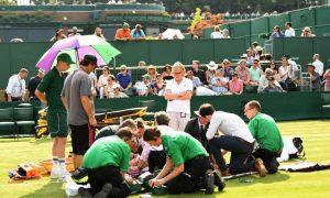 Serious Knee Injury Ends Bethanie Mattek-Sands' Wimbledon Run