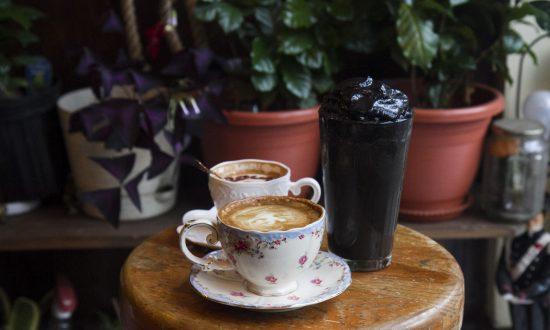 A Retro Korean Cafe Serves the Trendy Coffee Drinks of Tomorrow