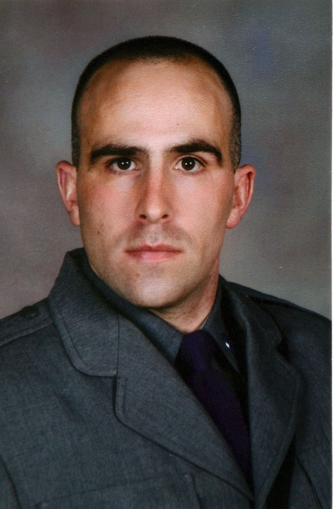 Trooper Joel R. Davis. (New York State Police)