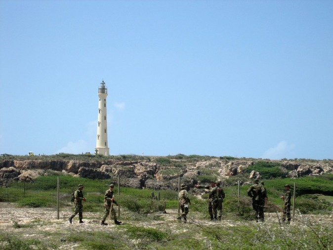 A shot of the California Lighthouse in Aruba, which includes the Natalee Holloway search party. (Creative Commons)