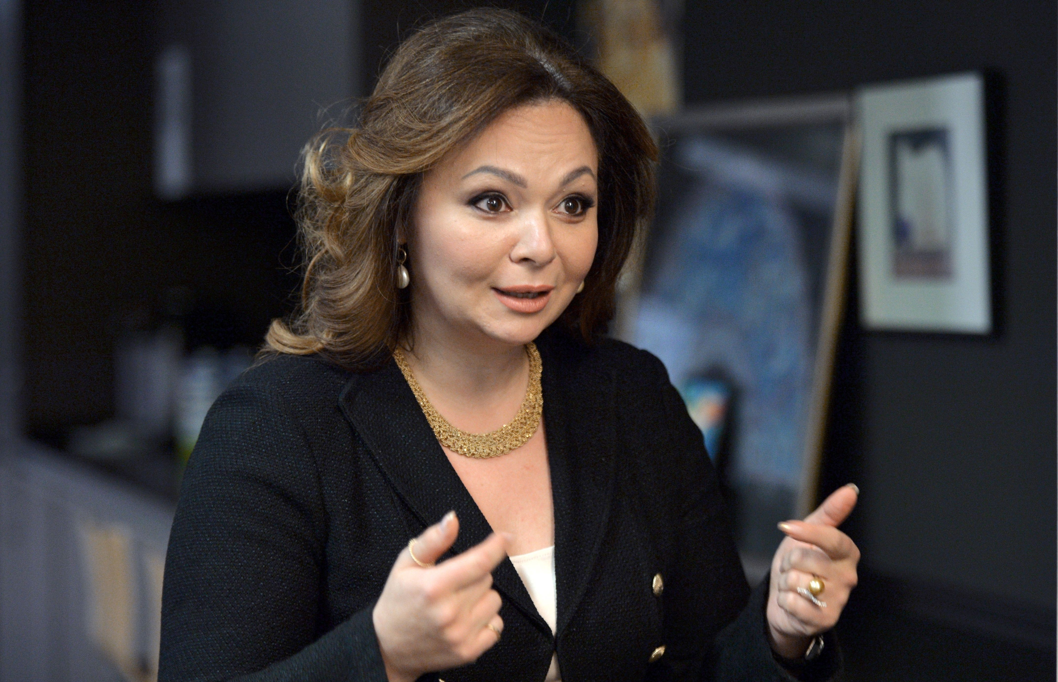 Russian lawyer Natalia Veselnitskaya in Moscow on Nov. 8, 2016. (YURY MARTYANOV/AFP/Getty Images)