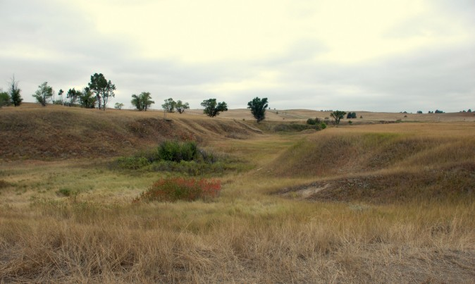 The site of the Wounded Knee massacre. (Myriam Moran copyright 2014)