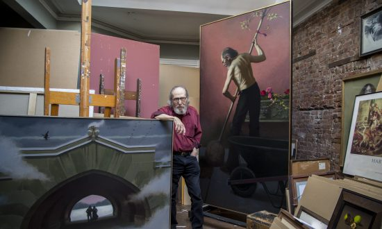 Harvey Dinnerstein, the Artist With Thirsty Eyes