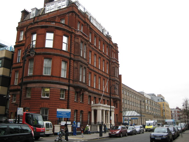Great Ormond Street Hospital for Children. (Creative Commons via Wikimedia)
