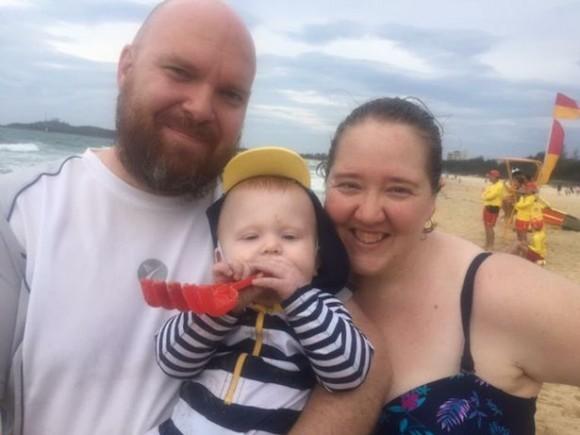 John, JB, and Imogen Petrak. (Photo courtesy https://www.gofundme.com/new-family-face-unthinkable-tragedy)