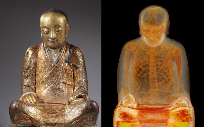 CT Scan Once Revealed Buddha Statue Had a Mummy Inside