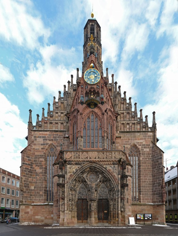 The Frauenkirche (Church of Our Lady), a beautiful Gothic church in Nuremberg's Hauptmarkt. (Kolossos/Public domain)