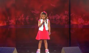 9-Year-Old Girl's Rendition of Alicia Keys's Song Stuns Judges