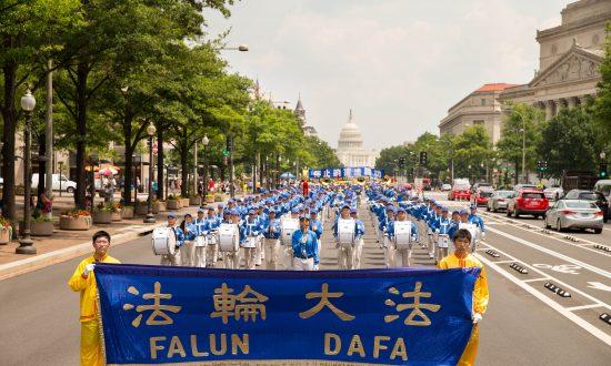 Falun Gong Marks 18 Years of Persecution in Washington DC Parade