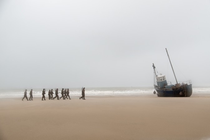 """A scene from the Warner Bros. Pictures action thriller """"Dunkirk,"""