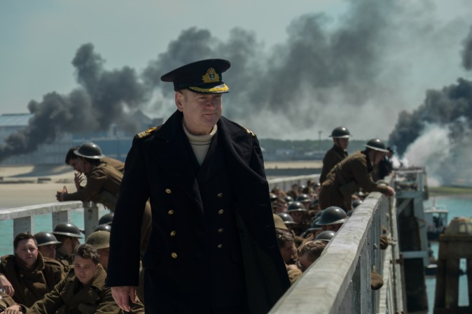 """Kenneth Branagh as Commander Bolton in the Warner Bros. Pictures action thriller """"Dunkirk,"""
