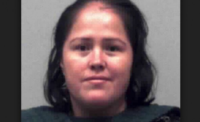 Isabel Martinez, 33, is accused of murdering five members of her family in Georgia (Gwinnett County Police)