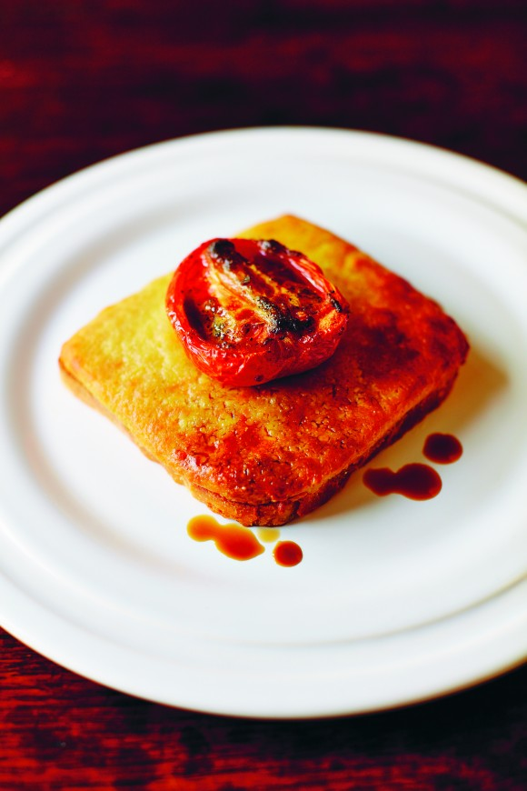 Welsh Rarebit, a traditional after-dinner savoury. (David Loftus)