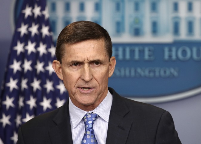 National Security Adviser Michael Flynn in the briefing room of the White House February 1, 2017 in Washington, D.C. (Win McNamee/Getty Images)