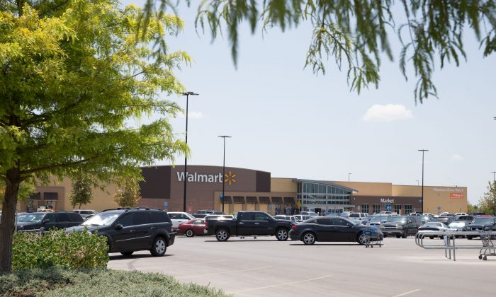10 people were found dead inside a truck in a Walmart parking lot in San Antonio, Texas in what police said appeared to be 'human trafficking crime' on July 23, 2017. (SUZANNE CORDEIRO/AFP/Getty Images)Nine people were found dead inside a truck in a Walmart parking lot in San Antonio, Texas in what police said appeared to be 'human trafficking crime' on July 23, 2017. (SUZANNE CORDEIRO/AFP/Getty Images)