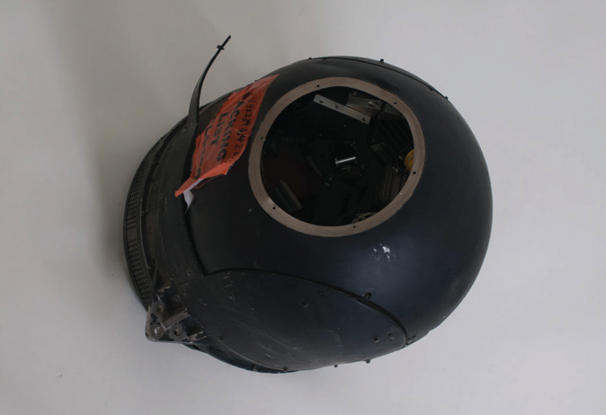 Infrared receiver obtained by GAO investigators from the LESO program. (Government Accountability Office)
