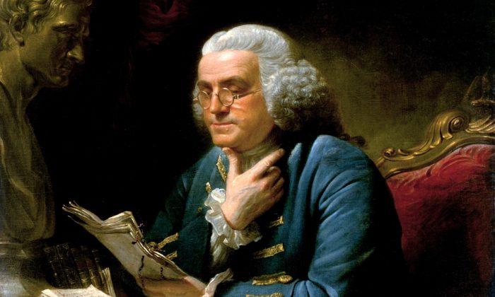 Benjamin Franklin. (Public Domain)